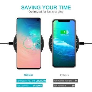 Image 4 - NILLKIN cargador inalámbrico para móvil, cargador de carga completa de 15W, para Samsung S20 Ultra, Mi 9 Xiaomi, 2,5 h, iPhone 11, XS, XR, samsung Note 10