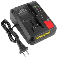 Tool Accessory PCC692L Li ion Battery Charger For Black Decker Porter Cable Stanley 10.8V 14.4V 18V PCC690L L2AFC FMC690L|Power Tool Accessories| |  -