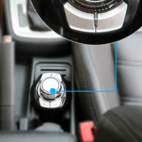 Buttons 7Key Car GPS Steering Wheel Controller Auto Safe Universal Accessories Radio Remote Control ABS Small Multifunctional