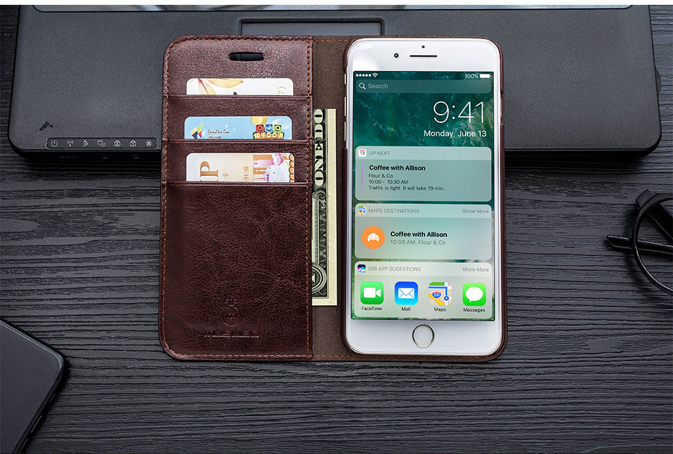 Genuine Leather Case for iPhone SE (2020) 69