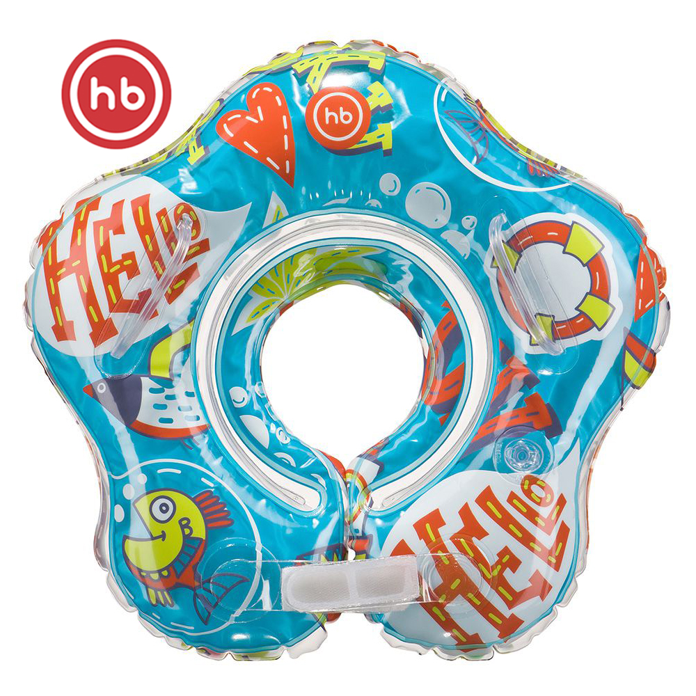 Accessories Happy Baby 121006 rubber ring a circle for swimming baby accessories dolfy happy baby swimming turtles 331843