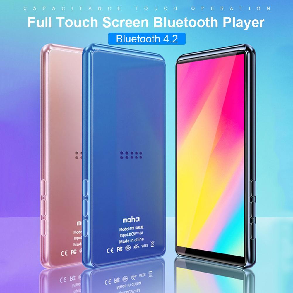 MP4 Player Bluetooth 4.2 écran tactile complet vidéo dictionnaire anglais longue veille Portable Mp 4 Walkman 8G