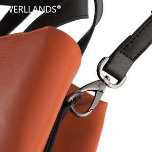 Image 3 - Luxury Genuine Leather Female Shoulder Bag Fashion Famous Brand Big Women Leather Handbag and Purses Large Ladies Top handle Bag
