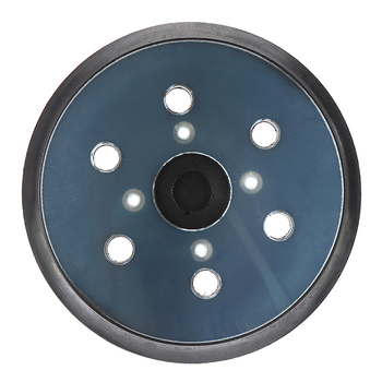 6 Inch 6 Hole Replacement Sander Disc 150mm Hook and Loop Sanding Backing Plates Sanding Disk For Grinder Power Tools 6 inch 150mm 17 hole dust free m8 thread back up sanding pad for 6 hook