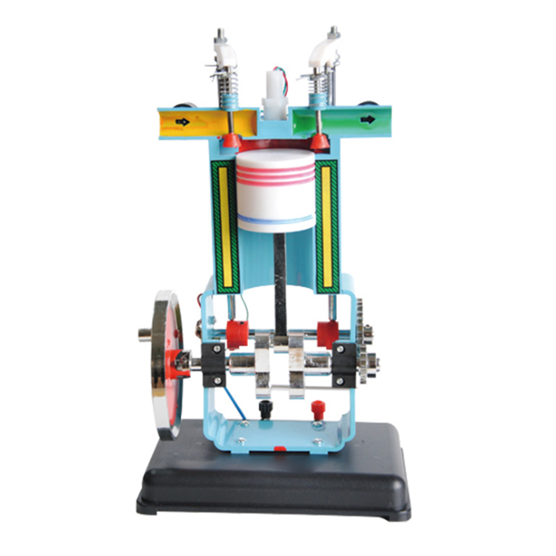 Gasoline Engine Model Four-Stroke Single Cylinder Physical Experimental Equipment