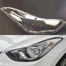 Lentille pour phare de voiture, coque de remplacement pour Hyundai Elantra (2012, 2013, 2014, 2015, 2016)