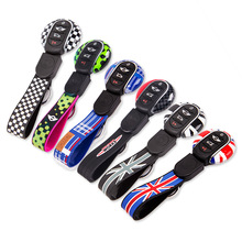 Fit for MINI Cooper S ONE JCW Genuine Car Key fob Cap Case Cover Protector Holder Union jack flag style F54 F55 F56 F57 F60