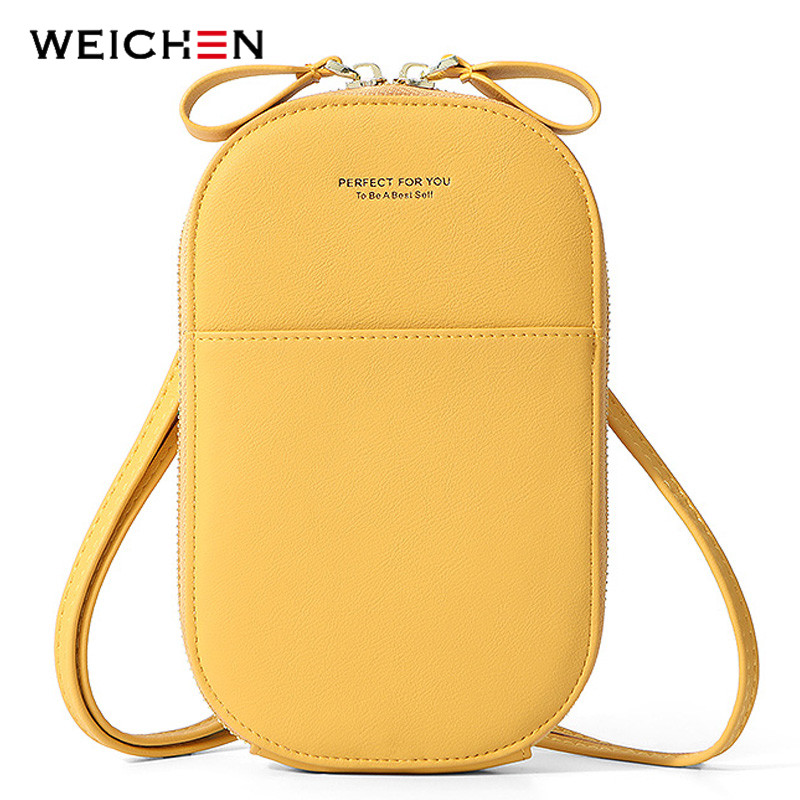 WEICHEN Mini Shoulder Bags Women Cell Phone Bag Female Multifunction Small Messenger Crossbody Bag Ladies Clutch Hand Bag NEW