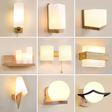Wall-Lamp Lighting-Fixture Decoration Bedside Bedroom Corridor Nordic Indoor Stairs Modern Led