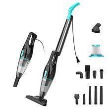 INSE Vacuum Cleaner Corded Stick Vacuum Cleaner R3S Powerful Suction 400W Motor Multipurpose 3in1 Handheld Vacuum Cleaner