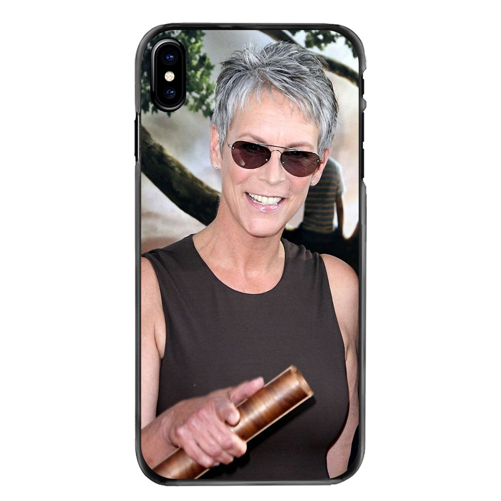 For Huawei P8 P9 P10 Lite Plus 2017 2016 Honor 5C 6 4X 5X Mate 8 7 9 Accessories Phone Bag Case Jamie Lee Curtis American author image