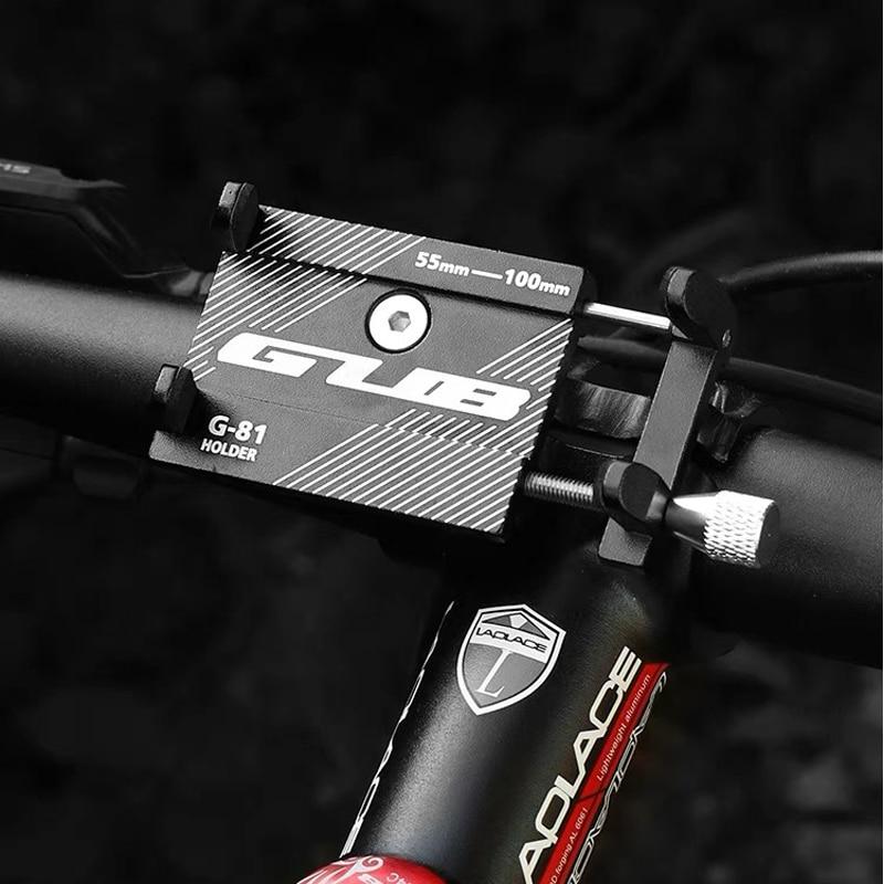 GUB G-81 Алюминий сплав велосипедов, телефонный держатель для велосипеда 3,5-6,2 дюймовый смартфон Поддержка GPS держатель для телефона на велосип...