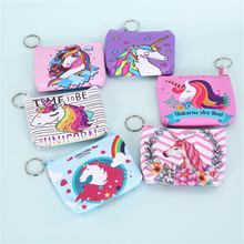 Vogvigo Coin Purse Cartoon Flamingo Unicorn Bag Small Change Purse Wallet Pouch Bag for Kids Gift Mini Zipper Coin Storage Bag etya women coin purse cartoon cute headset bag small change purse wallet pouch bag for kids gift mini zipper coin storage bag