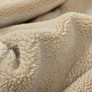 Image 4 - Simwood 2020冬の新ムートントリミングチェックウール混紡ジャケット男性ファッション暖かいプラスサイズコートSI980766
