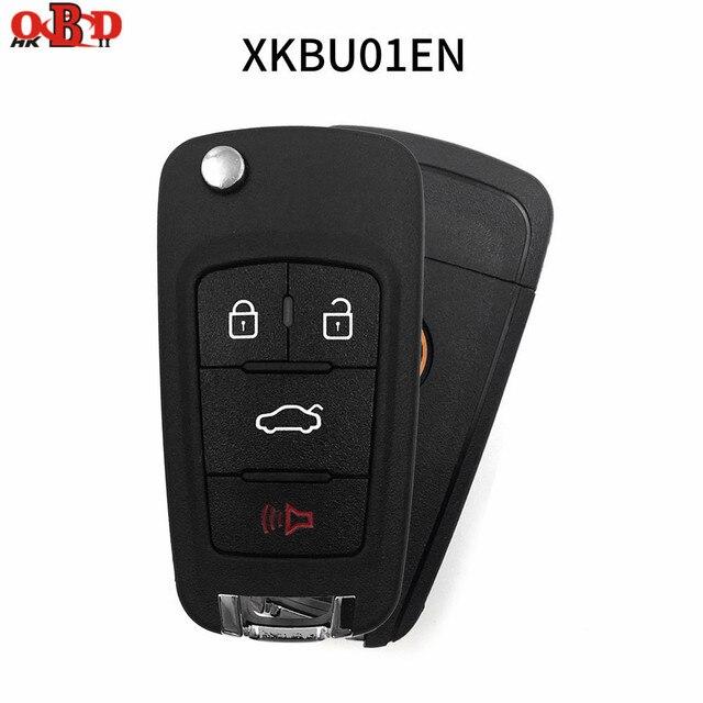 10 sztuk Xhorse BU styl drutu/bezprzewodowy uniwersalny 3/4 przyciski zdalne klucze do samochodu dla narzędzie VVDI MAX/VVDI2 klucz programujący