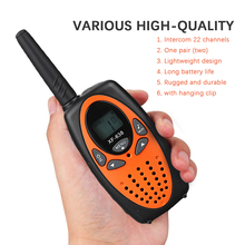 Marnaska Mini Walkie Talkies 2Pcs/Pack Children Gift/Family Use/Camping  22 Channels  Two Way Radio Handheld Interphone