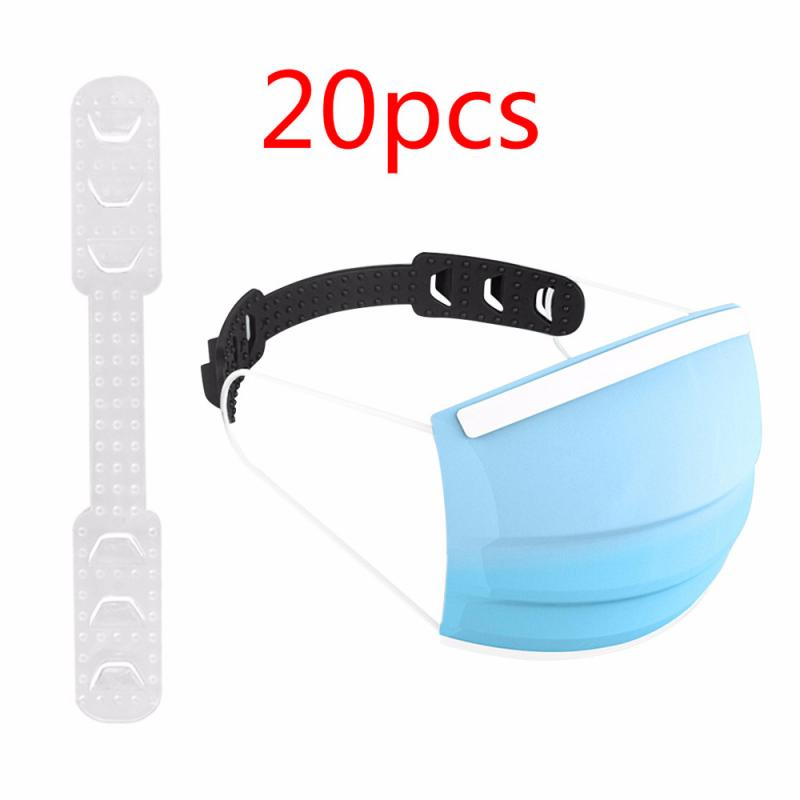 20pcs Disposable Mask 3 Layers High Quality Non-woven Dust Mask Respirator Safety Breathable Protective Mask Tool