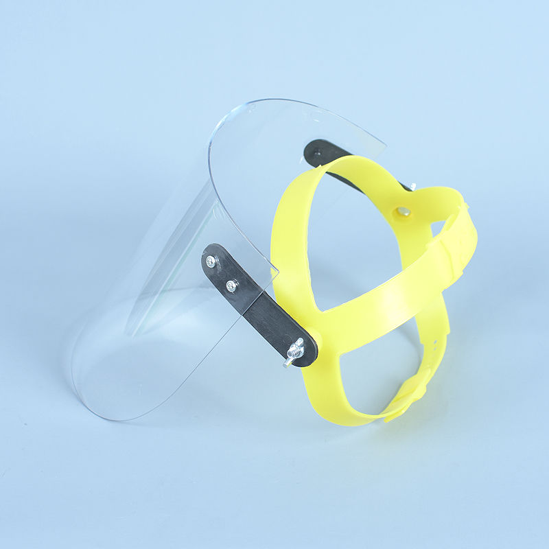 Anti-Saliva Dust Proof Mask Transparent PC Safety Face Mask Shield Screen Spare Visors Respiratory Tract Protection