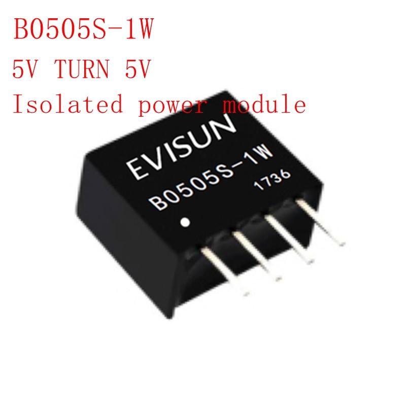 B0505S-1W B0505S B0505 SIP-4 5V TURN 5V Isolated Power Module