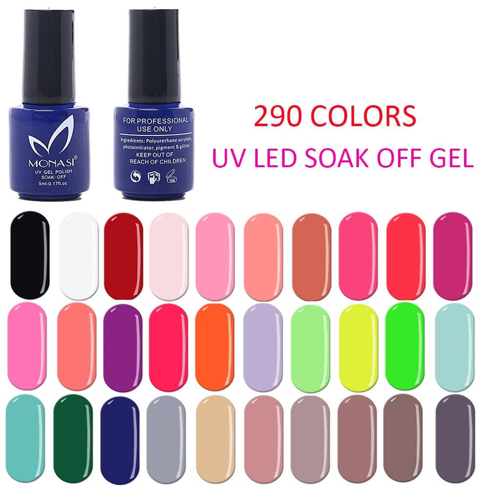 Gel Varnish Gel Nail Polish Hybrid Nail Art 290 Pure Glitter Colors UV/LED Soak Off Long Lasting Gel For Choose