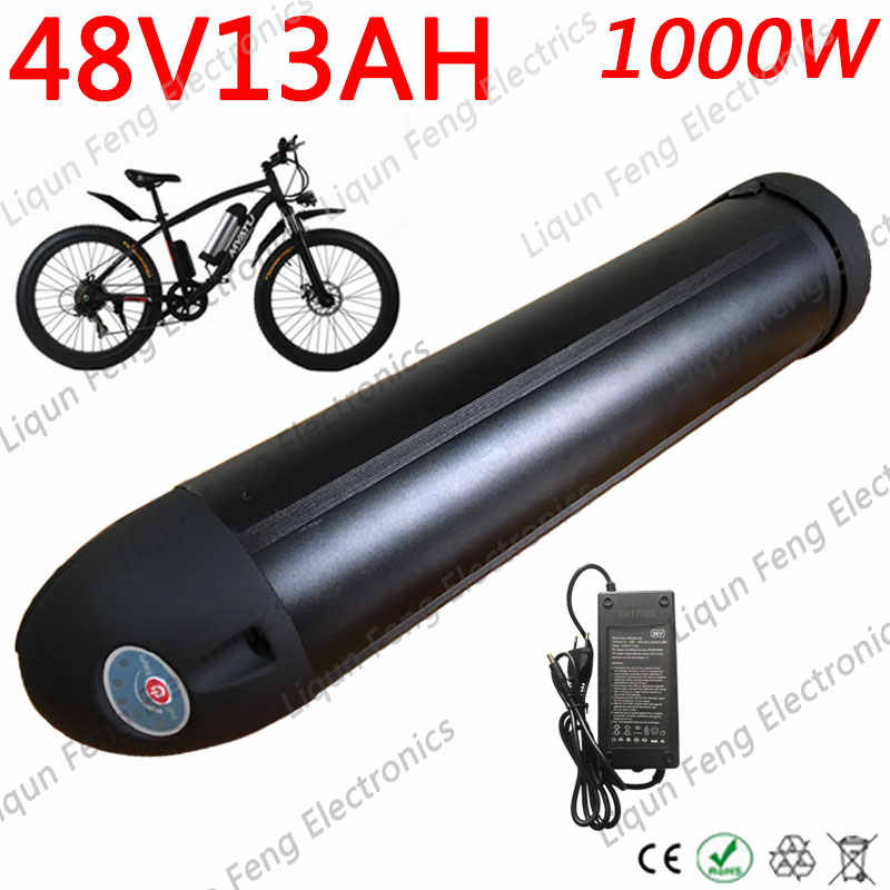 48v 10ah Lithium Battery Pack For 500W-750W E Bike Electric Mountain 30A BMS PCB