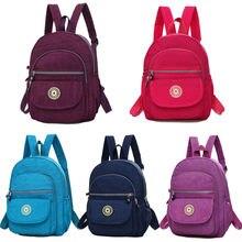 Женская модная сумка на плечо, женская сумка для книг, нейлоновая Наплечная Сумка для путешествий