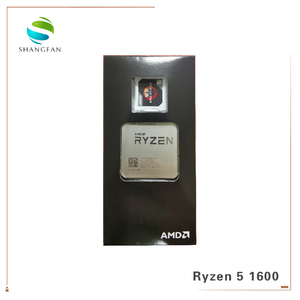 Image 3 - 새로운 AMD Ryzen 5 1600 R5 1600 3.2 GHz 6 코어 12 스레드 65W CPU 프로세서 YD1600BBM6IAE 소켓 AM4 쿨러 냉각 팬