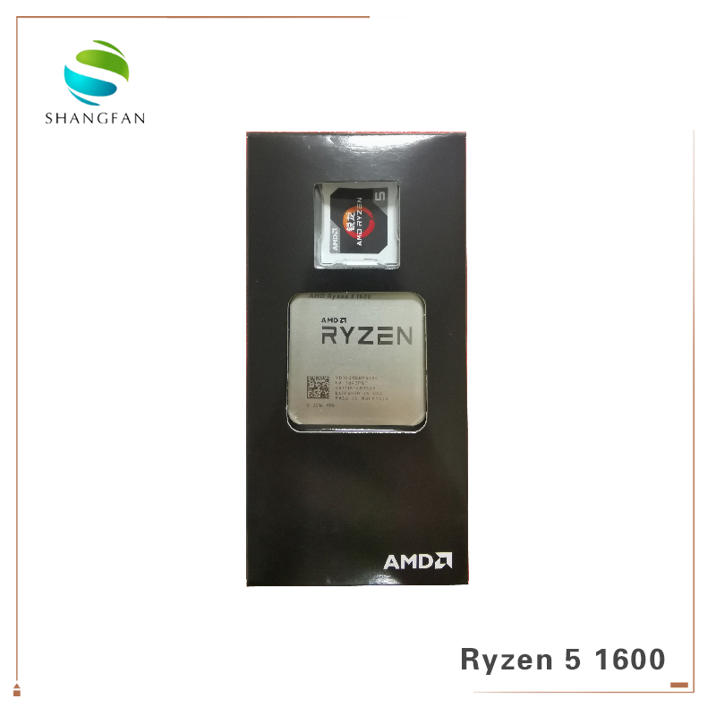 Image 3 - New AMD Ryzen 5 1600 R5 1600 3.2 GHz Six Core Twelve Thread 65W CPU Processor YD1600BBM6IAE Socket AM4 with cooler cooling fan-in CPUs from Computer & Office