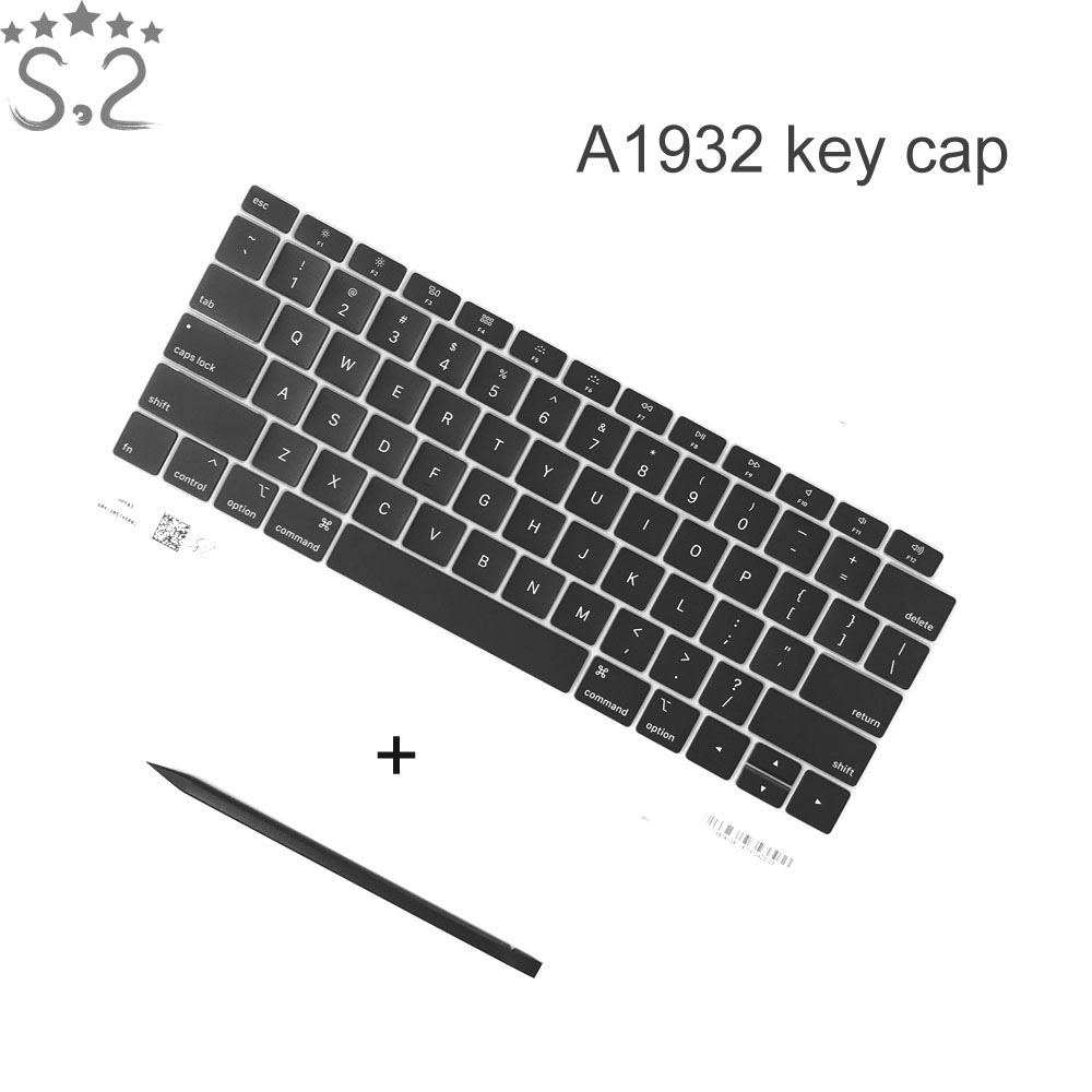 <font><b>A1932</b></font> <font><b>Keyboard</b></font> keys keycap for Macbook Air 13.3 laptop key cap Brand New 2018 image