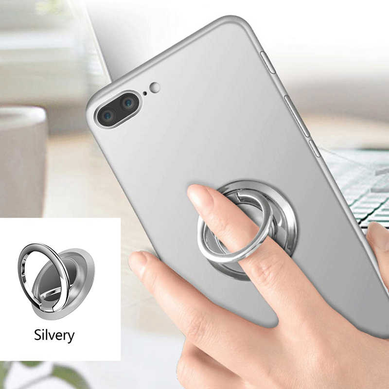 Universal 360 Finger Ring Mobile Phone Smartphone Stand Holder Cell Smart Round Phone Ring Holder For Iphone Xr Huawei Samsung