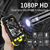 1080P Digital Dual Camera Industrial Endoscope IP67 Waterproof Borescope Inspection Camera for Pipe Detecting With 32GB TF Card discount