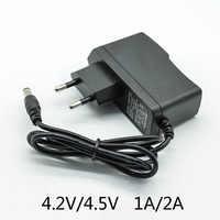 4.5V 1A 100-240V AC Converter Adapter DC 4.2V 1A 4.2V 2A 1000/2000 mA Power Supply Charger EU Plug 5.5mm * 2.5mm(2.1mm) AC to DC