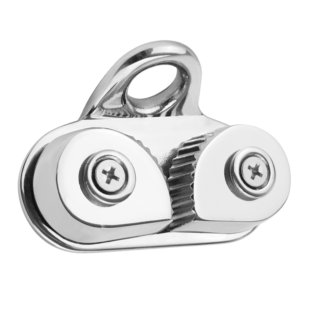 Cam Cleat With Leading Rings Boat Marine Sailboat 316 Stainless Steel Boat Cam Cleats