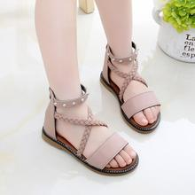 Girl'S Sandals Summer 2020 New Style Fashion Princess Shoes