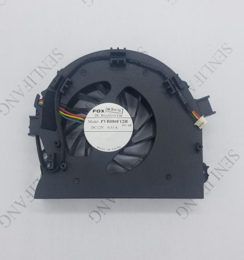 For Foxconn PVB080F12H -P01-AB P00-AB DC 12V 0.53A 4-wire Server Cooler Fan Free Shipping