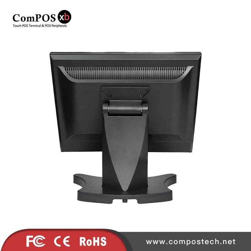 Solide strukturierte schmetterling basis 15 zoll screen monitor für büro - 4