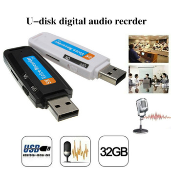 Mini Audio Voice Recorder Pen Dictaphone 32GB USB Flash Drive 2021 New 1