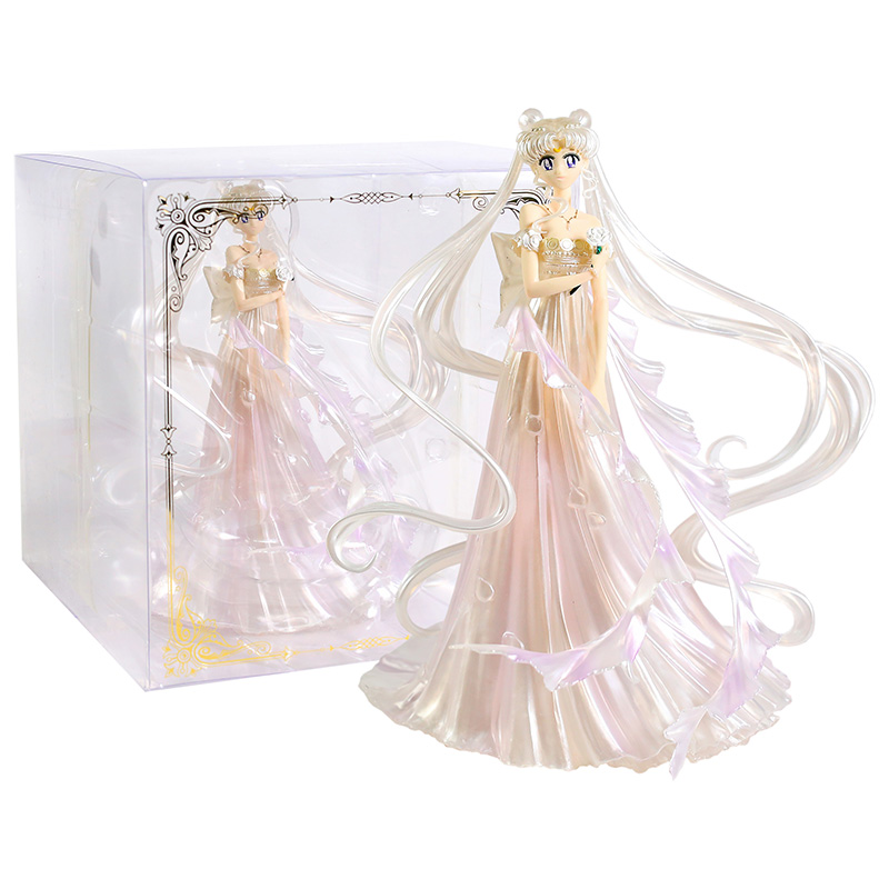 Sailor Moon Queen Serenity Dress Ver. PVC Figure Collectible Model Toy
