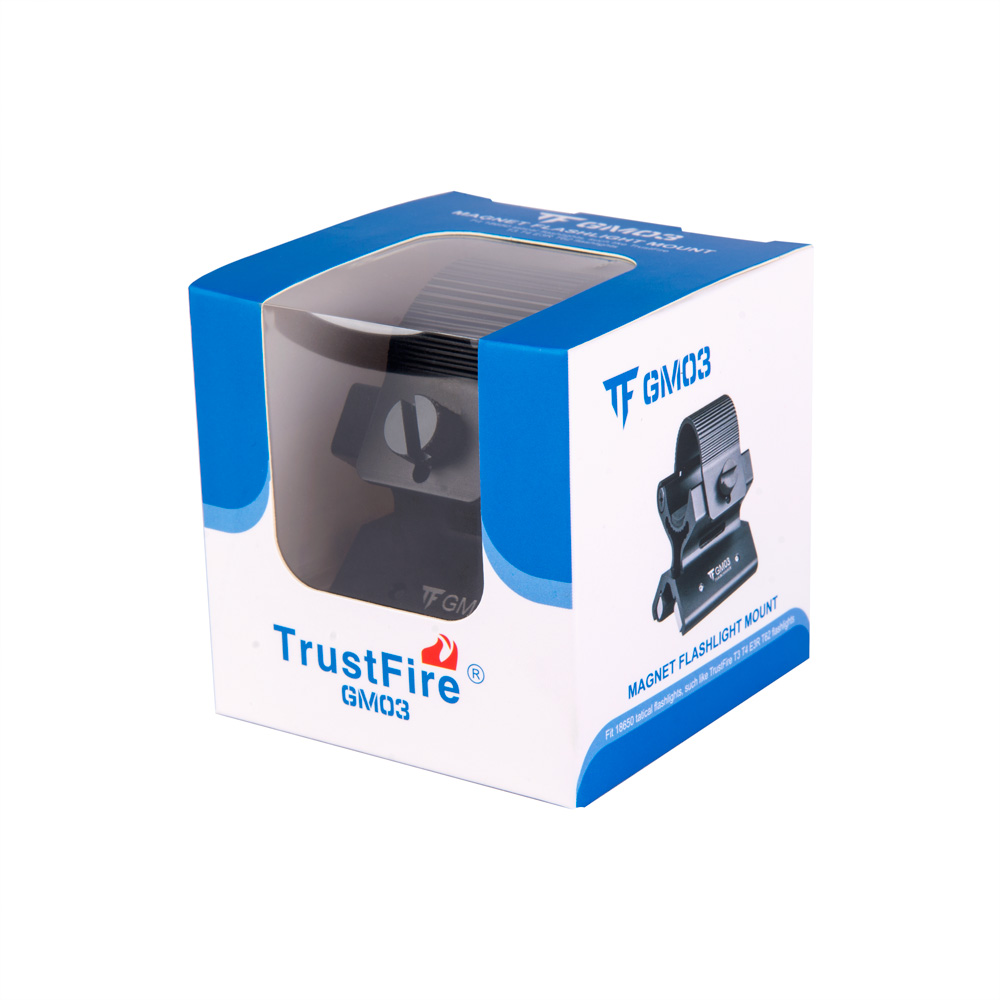 TrustFire GM03 Universal Magnetic Mount with Force Magnet Holder for Flashlight