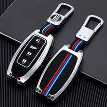 Zinc Alloy Key Cover Case Fob For Nissan Altima Sentra Leaf Versa Murano Pathfinder Rogue Titan GT-R Leaf 3 4 Button