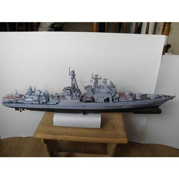 1:200 Admiral Antisubmarine Ship DIY 3D Paper Card Toys Set Toy Educational Military Model Building Kids Model Toys Constru Q9S8 1