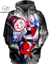 PLstar Cosmos DC Harley Quinn anime Super Attack Speed 3d hoodies/shirt/Sweatshirt Winter autumn funny Harajuku streetwear-10