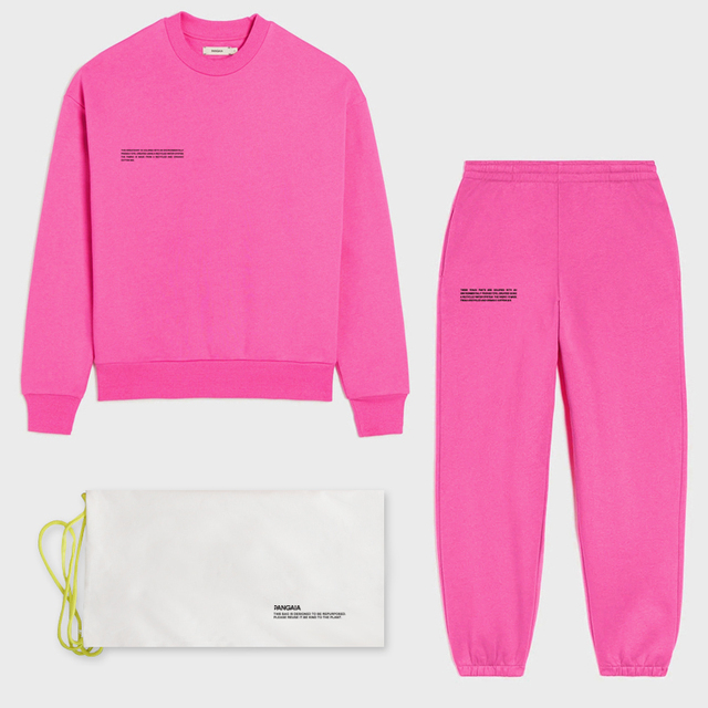 Solid Sweatsuit Set for Women Two Piece Outfits Oversized French Terry Tops and Sweatpants Jogger Tracksuits Loose Trousers 1