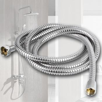 1.5/3/2M Stainless Steel Bath Shower Head Hose Leak Proof Washers Flexible Hose Professional Sturdy Shower Head Hose