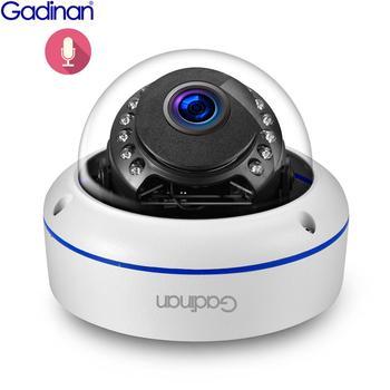 Gadinan SONY IMX335 5MP Onvif telecamera IP microfono interno rilevazione di movimento led IR telecamera Dome esterna accesso remoto Xmeye 1