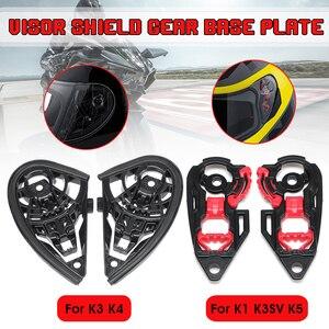 Image 3 - Motorcycle Anti scratch Wind Shield Helmet Lens Visor Full Face Fit for AGV K1 K3SV K5 Motorcycle Accessories