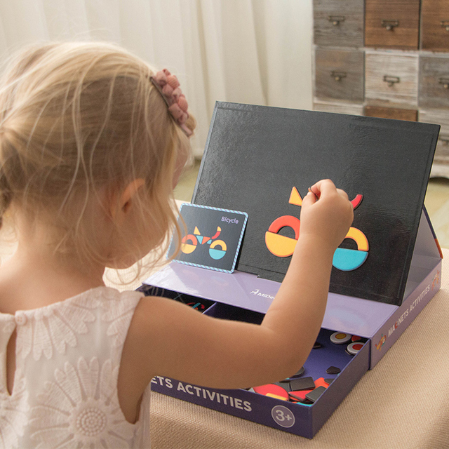 MiDeer-Kids-Children-s-Magnetic-Puzzle-Traffic-Change-Face-Baby-Early-Education-Educational-Toys-Variety-Creative
