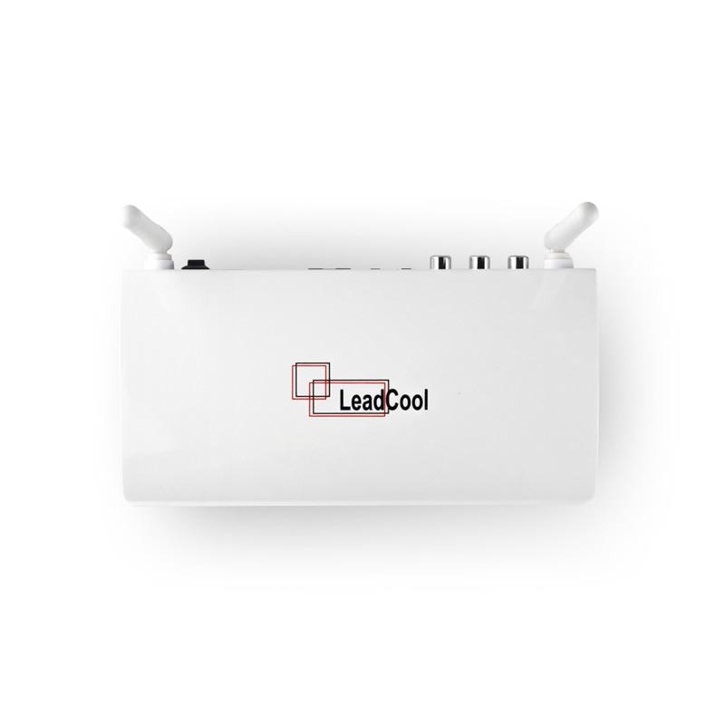 Leadcool Android 8,1 RK3229 1G/2G DDR3 8G/16G Emmc USB 2,0 2,4G wifi H.265 4K Media Player Android Tv Box Mit Fernbedienung