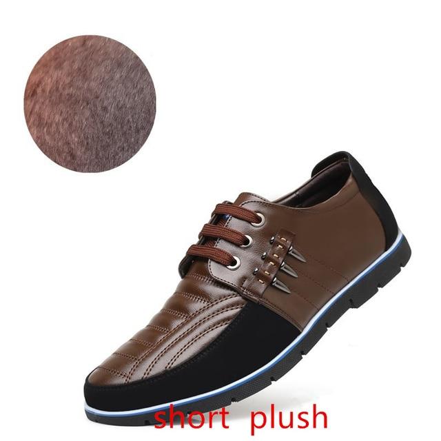 Size 37 48 Mens Formal Shoes Genuine