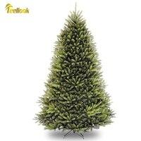Teellook-Árbol de Navidad para Hotel, centro comercial, decoración del hogar, material de pvc, 1,2 m/3,6 m, Año Nuevo
